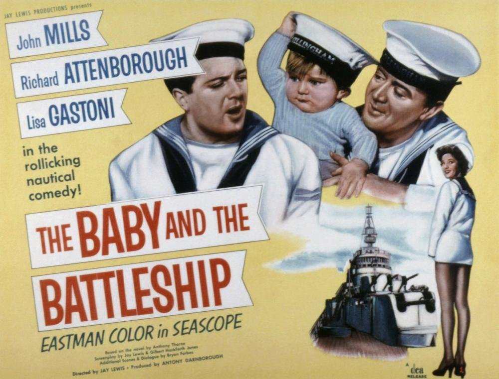 Baby and the Battleship