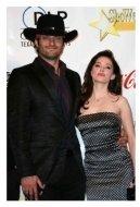 Robert Rodriguez and Rose McGowan