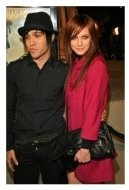 Pete Wentz and Ashlee Simpson