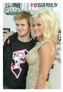 Anna Nicole Smith and son Daniel