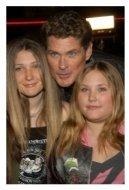 David Hasselhoff and family