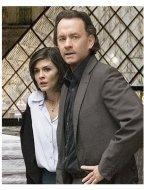The Da Vinci Code Movie Stills:  Audrey Tautou and Tom Hanks
