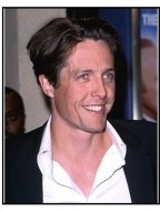 "Hugh Grant at the ""Mickey Blue Eyes"" Premiere."