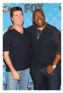 Simon Cowell and Randy Jackson