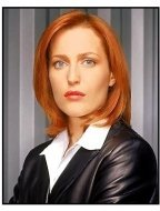X-Files:  Gillian Anderson as Agent Dana Scully