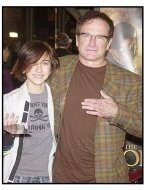 """Robin Williams and daughter at """"The Lord of the Rings: Return of the King"""" Premiere"""