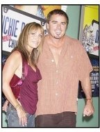"Christopher Knight and date at the ""Dickie Roberts: Former Child Star"" premiere"