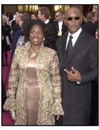 Academy Awards 2002 Mens Fashion: Samuel L. Jackson and wife LaTanya Richardson