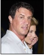 "Sylvester Stallone and wife Jennifer Flavin at the Los Angleles premiere of Cirque Du Soleil's latest production ""Varekai"""