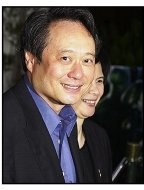 """Ang Lee and wife at the premiere of """"The Hulk"""""""