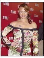 Faith Evans at the EMI Post Grammy Party