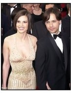 Hilary Swank and Chad Lowe at the 2001 Academy Awards