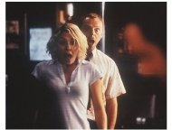 """""""Shaun of the Dead"""" Movie Stills:Simin Pegg and Kate Ashfield"""