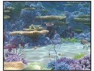 """Finding Nemo"" Movie Still: The Coral Reef"
