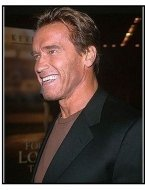 "Arnold Schwarzenegger at the ""For Love of the Game"" Premiere"