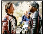 """Torque"" movie still: Martin Henderson and Ice Cube"