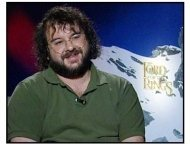 """The Lord of the Rings: The Fellowship of the Ring"" Interview Video Still: Peter Jackson"