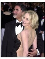 Sharon Stone and Phil Bronstein at the 2002 Academy Awards