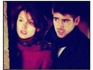 """The Recruit""  movie still: Bridget Moynahan and Colin Farrell"