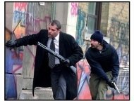 Narc movie still: Ray Liotta as Henry Oak and Jason Patric as Nick Tellis in Narc