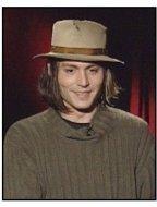 """""""From Hell"""" Interview Video Still: Johnny Depp"""