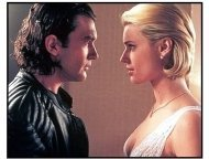 Femme Fatale movie still: Antonio Banderas and Rebecca Romijn-Stamos in Femme Fatale