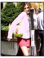 """Daisy Fuentes at the """"Rock & Rally"""" Music and Tennis Festival"""