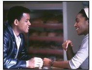 Ali movie still: Will Smith as Muhammad Ali and Nona Gaye as his second wife, Belinda