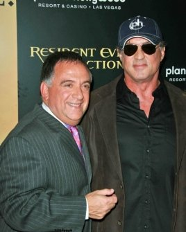 Robert Earl and Sylvester Stallone