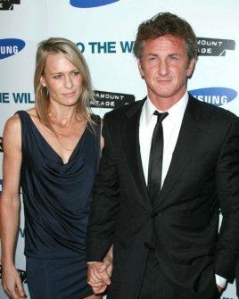 Robin Wright Penn and Sean Penn