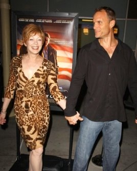 Frances Fisher and guest