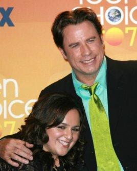 Nikki Blonsky and John Travolta