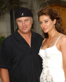 William Petersen and wife Gina