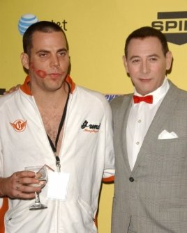 Steve-O and Paul Reubens
