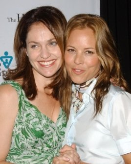 Amy Brenneman and Maria Bello