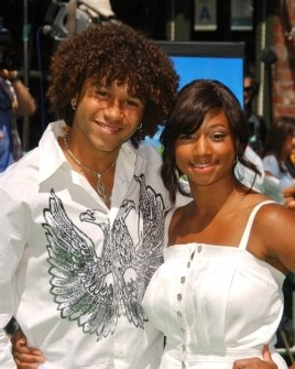 Corbin Bleu and Monique Coleman