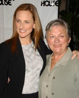 Marlee Matlin and mother Libby