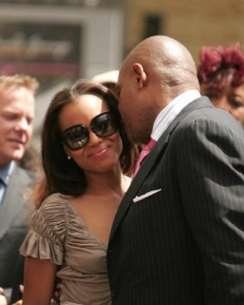 Kerry Washington and Forest Whitaker