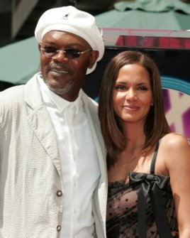Samuel Jackson and Halle Berry