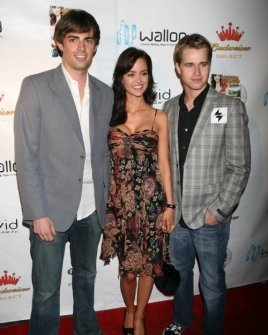 Jonathan Bennett with April Scott and Randy Wayne
