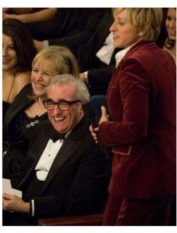 79th Annual Academy Awards Show Photos: Martin Scorcese and Ellen DeGeneres