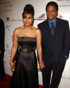 Janet Jackson and Jackie Jackson