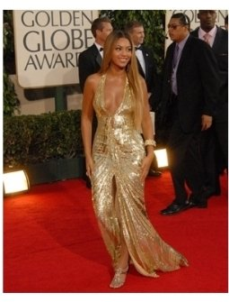 64th Annual Golden Globes Awards Red Carpet: Beyonce Knowles