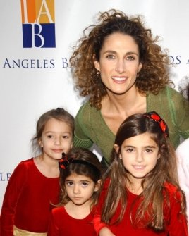 Melina Kanakaredes and family