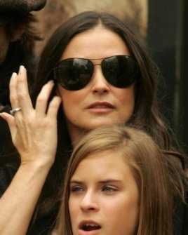 Demi Moore and Tallulah Belle Willis