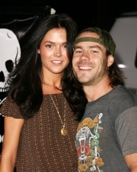 Chris Pontius and guest