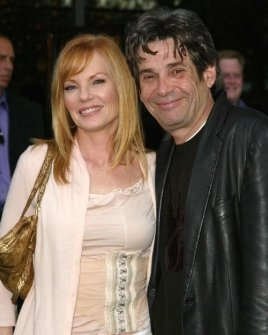 Marg Helgenberger and Alan Rosenberg