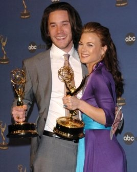 Tom Pelphrey and Gina Tognoni