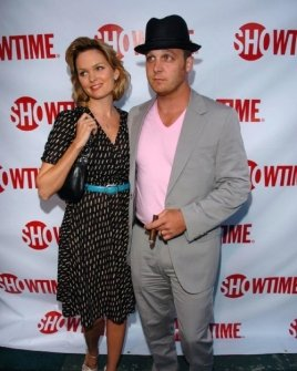 Sunny Mabrey and Ethan Embry
