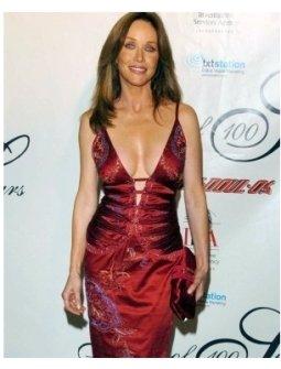 Tanya Roberts at the Night of 100 Stars Oscar Party